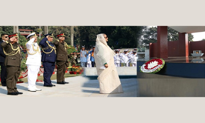 Prime Minister pays homage to Armed Forces martyrs