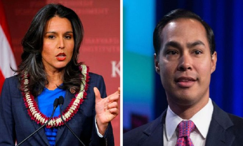 US Democrats Castro and Gabbard make bids for presidency