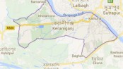 Two killed in Keraniganj road crash