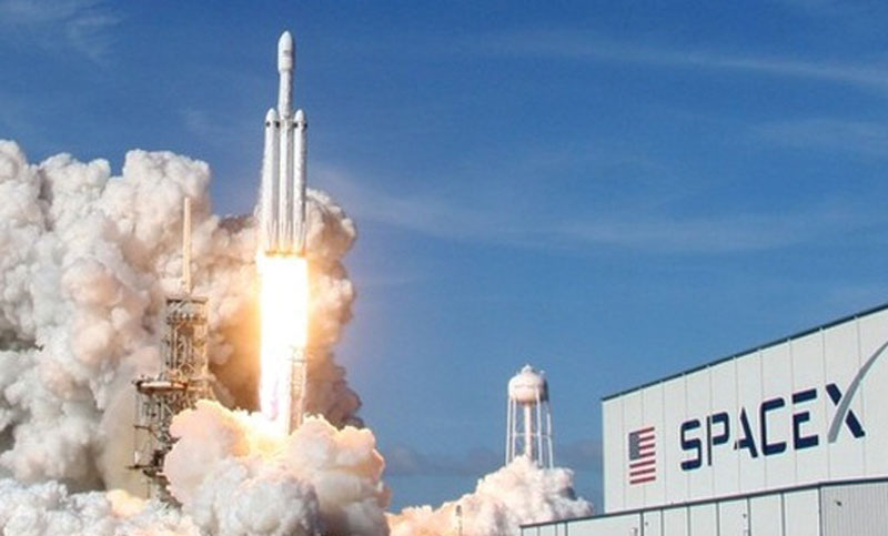 SpaceX's first 2019 launching