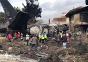 Fifteen killed in military cargo plane crash in Iran
