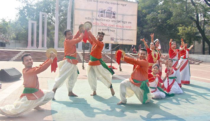 Noble initiative to keep Shaheed Minars clean