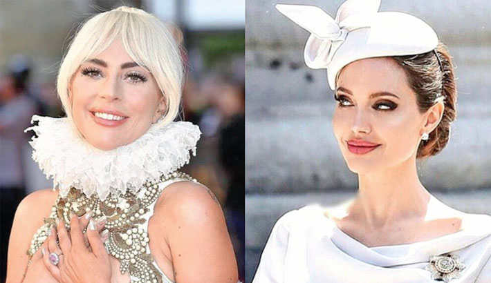 Gaga, Jolie warring over Cleopatra role