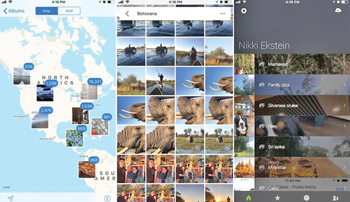 Manage vacation photos with apps and hacks