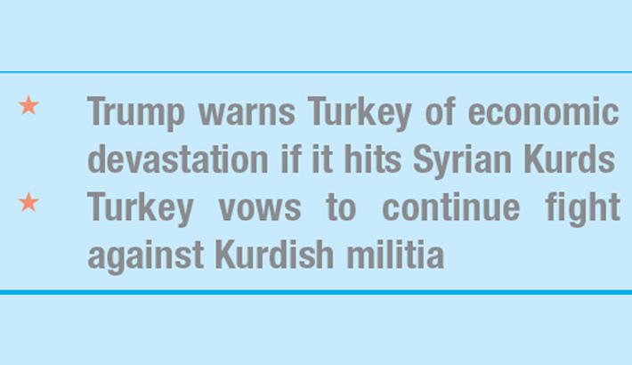 US-Turkey row deepens over Kurds