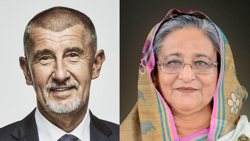 Czech PM congratulates Hasina