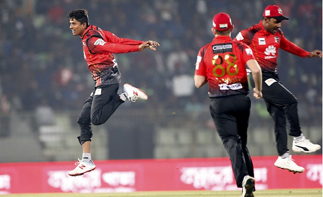Comilla Victorians beat Sylhet Sixers by 8 wickets