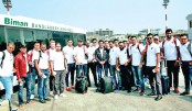 Comilla Victorians players and officials pose for a photograph