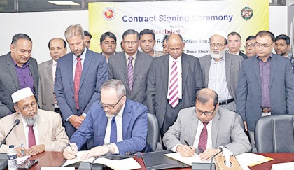 BR inks deal with US co to  procure 40 BG locomotives