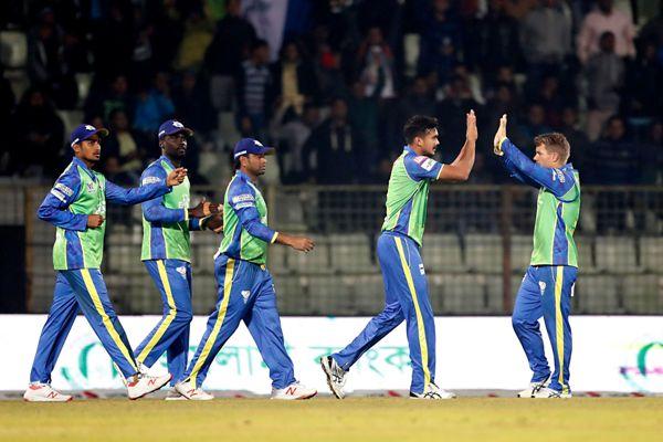 Sylhet Sixers won by 27 runs against Rangpur Riders