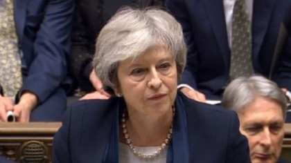 Brexit deal is voted down in historic Commons defeat