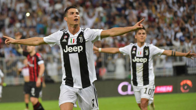 Cristiano Ronaldo seals Italian Super Cup for Juventus