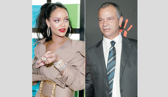 Rihanna sues her dad for using her Fenty brand name