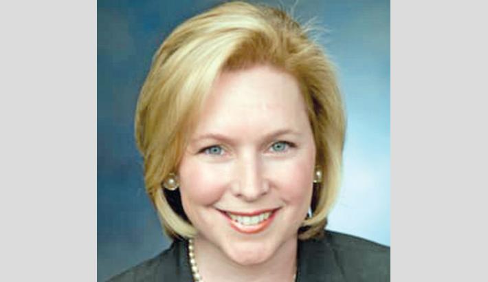 Anti-Trump senator Gillibrand launches presidential bid