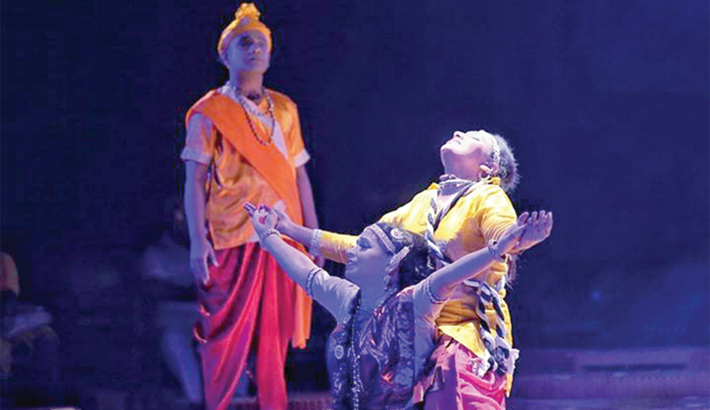 'Chitrangada' staged at BSA