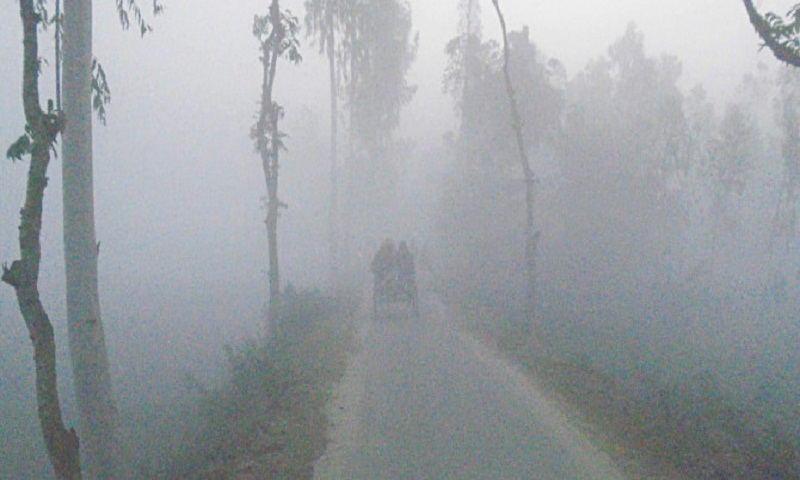 Mild cold wave sweeps over parts of country