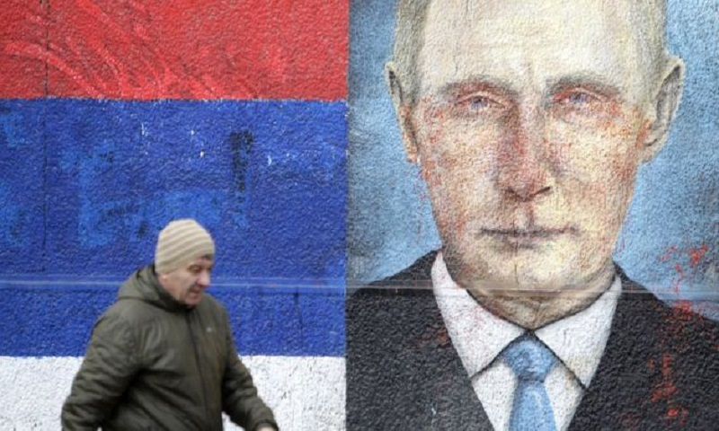 Putin warns West on Balkans as Serbia prepares lavish welcome