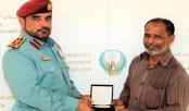 Bangladeshi honoured for heroism in UAE