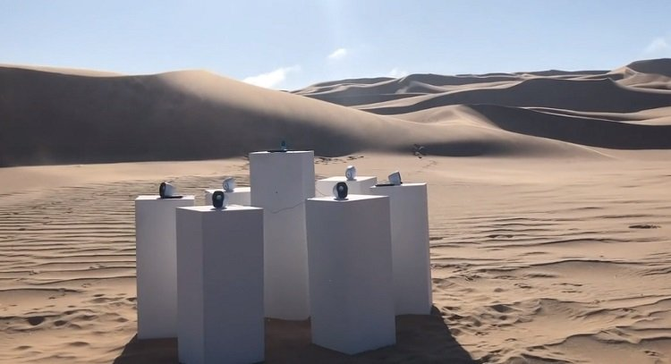 Hit song from 80s to play in Namibian desert for eternity