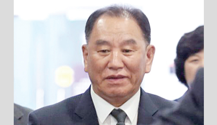 Top N Korea official en route to Washington