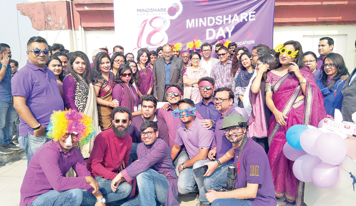 Mindshare celebrates 18 years of glory