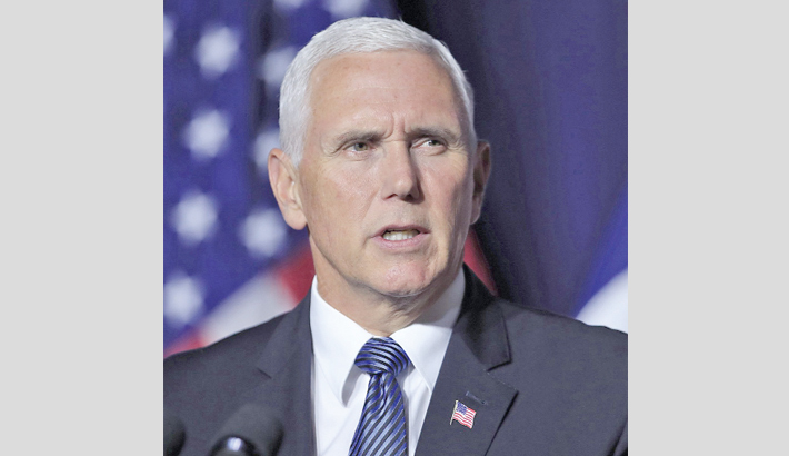 Pence urges US diplomats to  promote legal  immigration