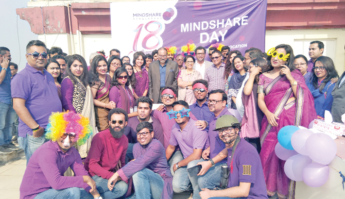 Mindshare Bangladesh celebrates 18th anniversary