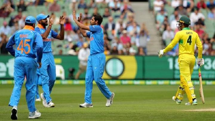 India win toss and bowl in 3rd Australia ODI