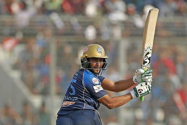 Sylhet Sixers set 159 runs target for Dhaka Dynamites