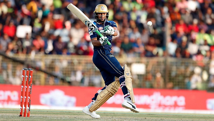 Dhaka Dynamites beat Sylhet Sixers by six wickets