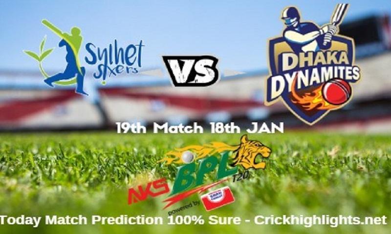 Dhaka Dynamites to take Sylhet Sixers today