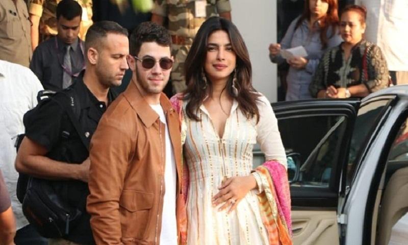 Priyanka Chopra, Nick Jonas walk hand in hand as they begin life as a married couple in LA