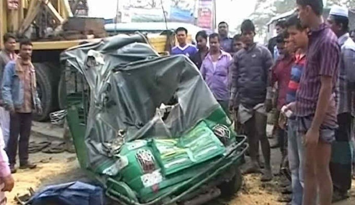 Bus- auto rickshaw collision claims 2 lives in Cumilla