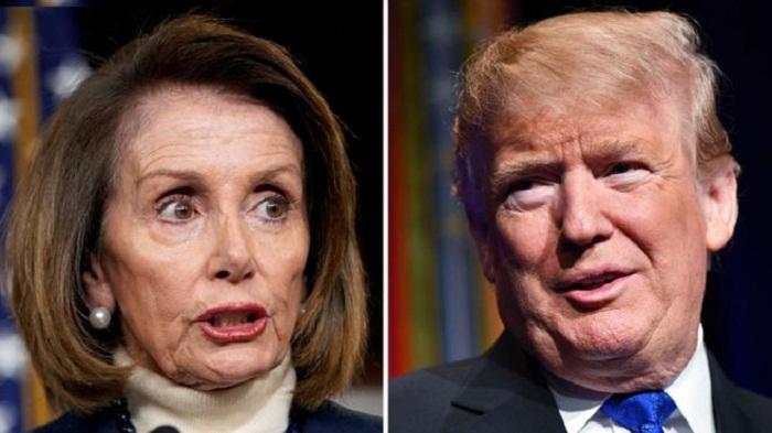 Trump cancels Nancy Pelosi foreign trip citing shutdown