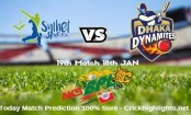 Dhaka Dynamites to take Sylhet Sixers today