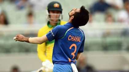 Chalal captures 6-wicket to restrict Australia to 230 in final ODI
