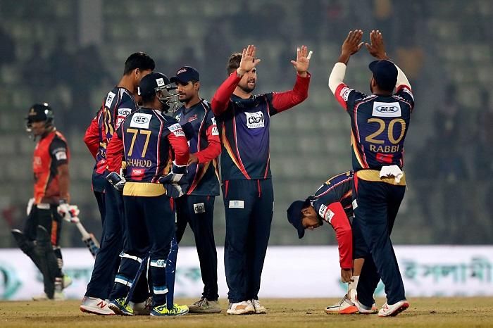 Chittagong  Vikings win by 26 runs against Khulna Titans