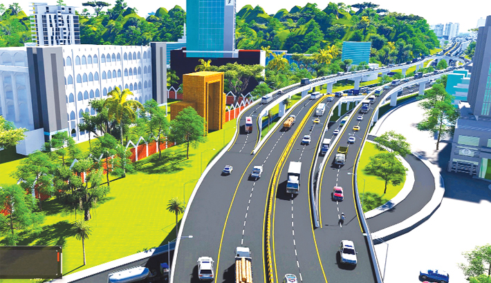 Construction of Ctg elevated  expressway  begins this month