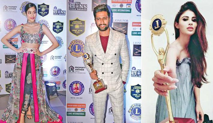 Lions Gold Awards 2019: Vicky, Janhvi and Mouni win big
