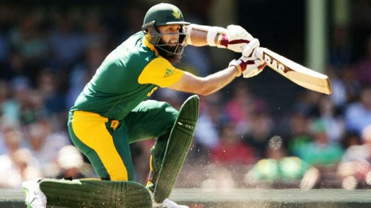 Amla hits century on slow pitch to set Pakistan 267 target