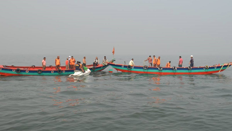 Meghna trawler capsize: Rescue operation continues for 5th day