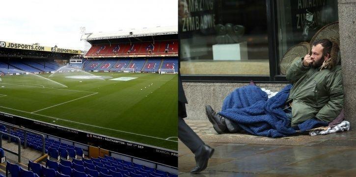 Football club opens doors to London homeless