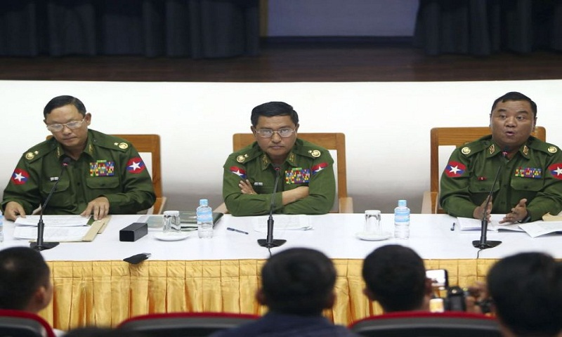 Myanmar army ordered to take offensive against Arakan Army