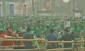Election victory rally: AL leaders, activists start gathering at Suhrawardy Udyan