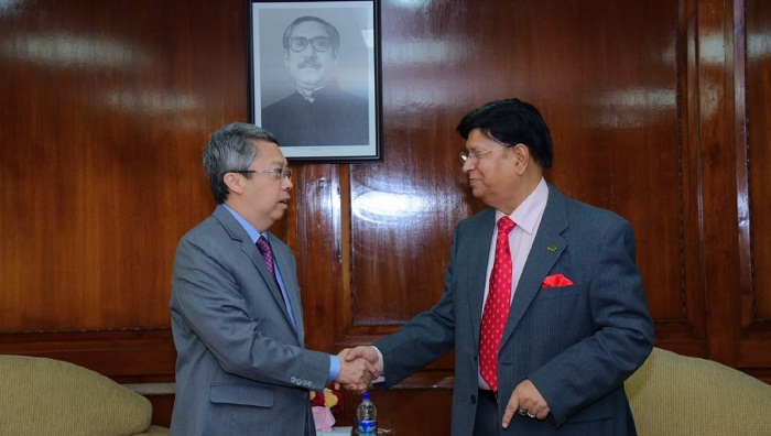 Bangladesh seeks Singapore's continued support to resolve Rohingya crisis