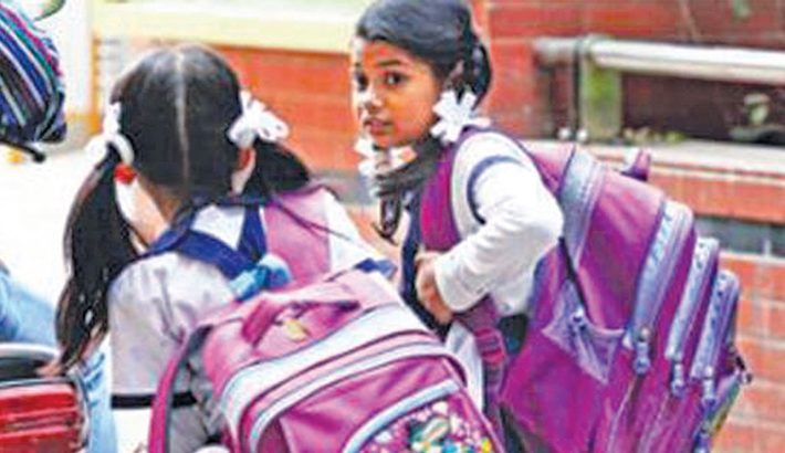 Let children smile, be freed from heavy schoolbag