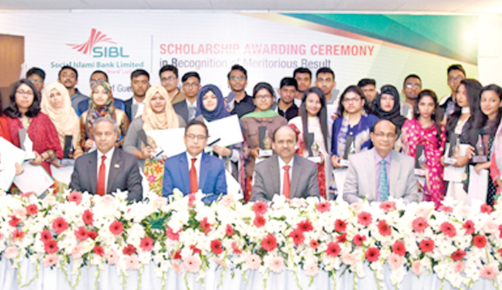 SIBL honours  meritorious  students