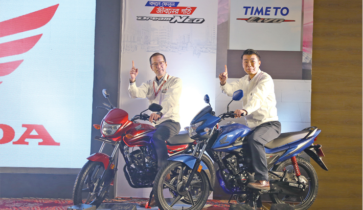 Honda launches two new bikes in Bangladesh mkt