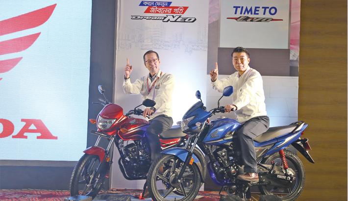 Honda launches two new bikes in Bangladesh mkt