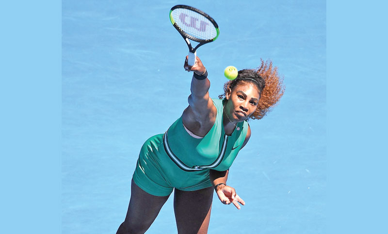 Serena, Djokovic march on at Austalian Open